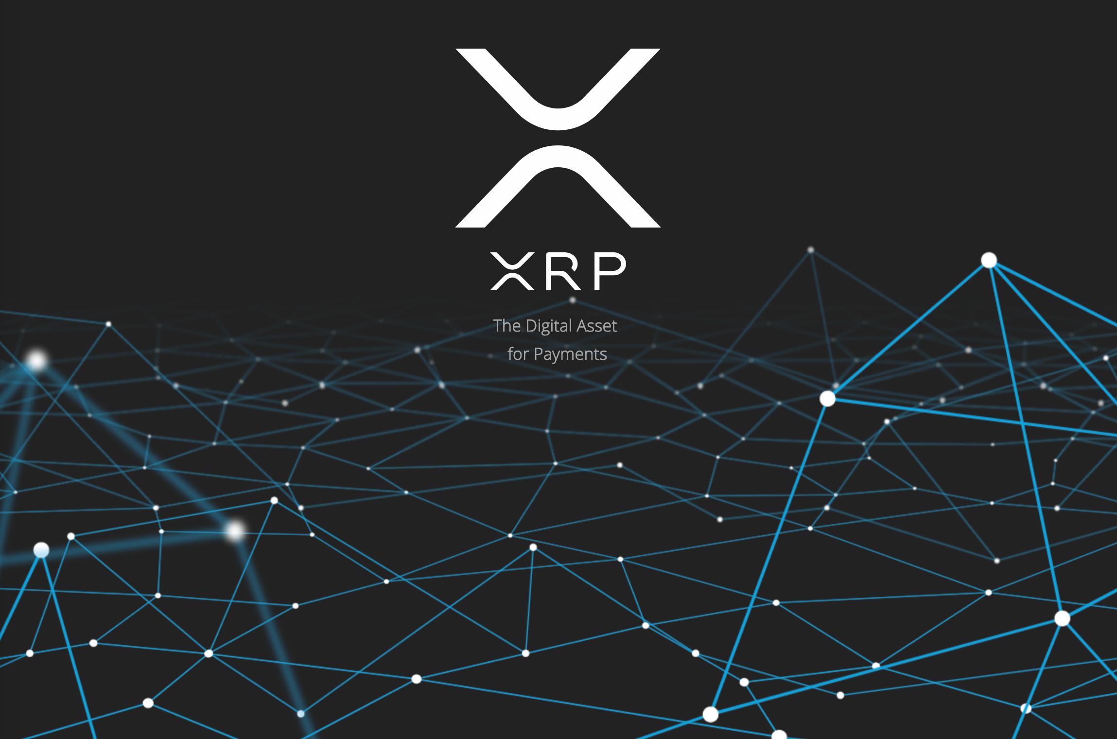 Ripple(XRP)のトップページ画像
