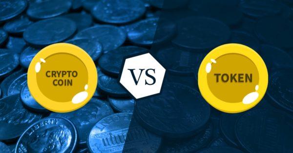コインとトークンの違い イメージ画像
