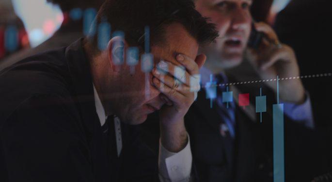 FXで破産して途方に暮れる人の写真