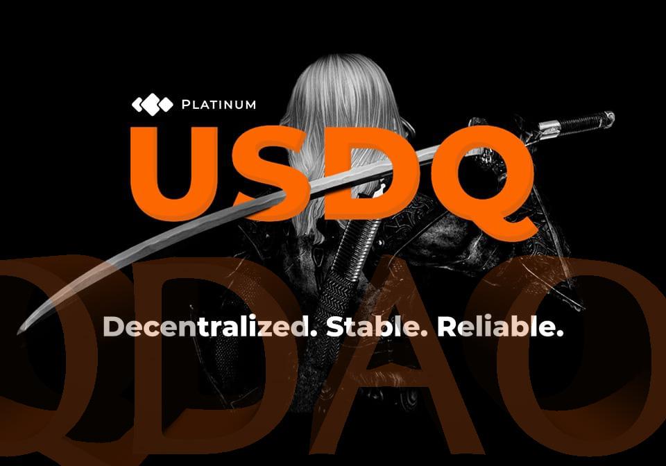 QDAOトークンとUSDQの関係性イメージ画像