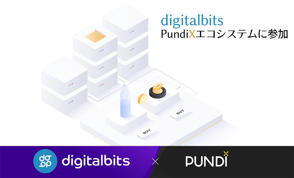 PundiXとdigitalbits提携のイメージ画像
